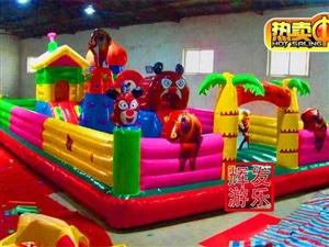 熊出没充气城堡,长10米宽5米,50平方。设备齐全!!超优惠出售!!!电联13097100252