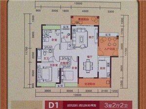 潇湘山水城3室2厅2卫67万元