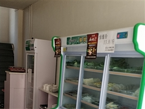 刚用一个月1.8米展示柜,上面保鲜,下面冷仓,买3880卖2000,全铜管,和桌子4套,买450一套...