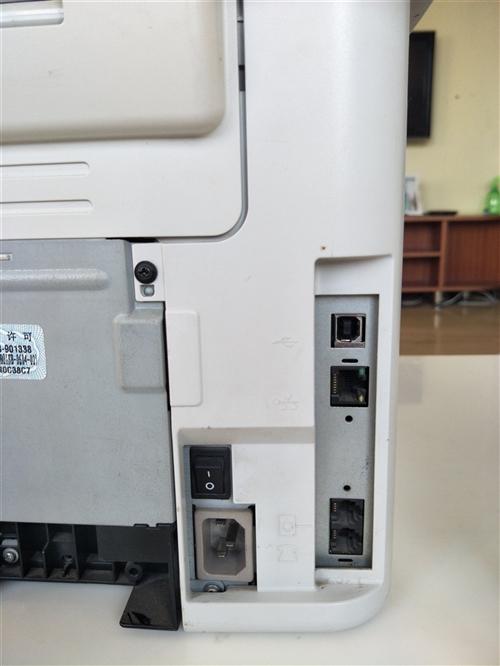 惠普打印复印扫描传真一体机,九成新,支持网络,用不上了转让!有意向电话13256934434