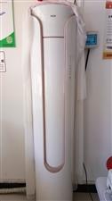 奥克斯大3匹空调柜机出售,用了不到一年,制冷效果很快,外观设计漂亮,圆形柜机,非常省电,现在不想用了...
