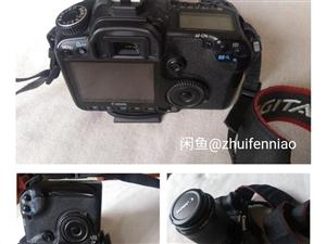 佳能40d单反相机出售,带16G卡,遥控器,三脚架,单电单充,配件齐全,带80/200镜头和18/5...