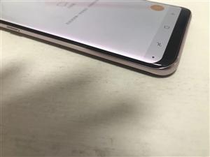 特价S8+ 玫瑰金99新 有个很小小坏点看第二图,成色99新 不烧屏,