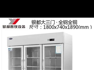 9成新三门展示柜。临泉县城自提18655851011