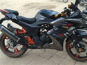 150摩托车 95新 刚骑了600多公里 手续齐全 可上牌 可小刀