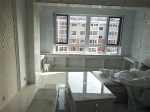 河畔新城回迁房 六楼 到顶17层  毛坯房 两室一厅 100平 临街 不挡光  一次性付款
