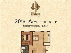 新东城2室2厅1卫72万元