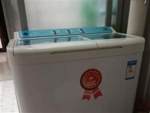 长风牌双筒洗衣机,去年购买,崭新,7.6公斤,洗力强劲,洗净度高,质量没问题,现不用了,处理!