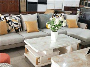 全新(沙发+餐桌+电视柜+茶几=5500元) 刚买的全新家具,一次都没没用过。因与装修风格不搭,所...