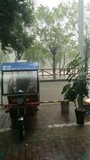 让暴风雨来的更猛烈一些,寻乌县城好凉快!(附视频)
