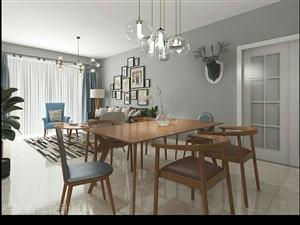 #设计案例分享001#两室两厅--北欧风格