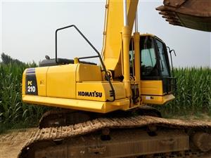 处理自用12年购买小松210-8基本没干活工作4000小时,13953438518