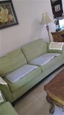 三人位布艺沙发,限澳门星际平台本地交易,上门自提。