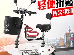 小海豚迷你电动车成人女性小型电瓶车折叠式电动滑板车代步踏板车。全新,全新,全新,组装好试车都没有过,...