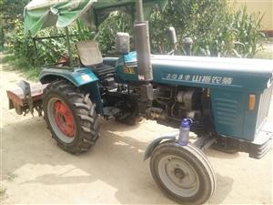 山拖40型拉机带旋耕机,小麦播种机,玉米播种机,带滚子压麦子拖拉机合一辆。价格美丽,有需要的联系,1...