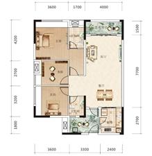 康安江城一期清水房,120平三室两厅双卫,单价5300