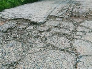 文桥到牛脑驿的重要公路损坏极其严重!
