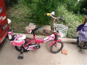 全新儿童自行车,没大骑,有意电联13792207027