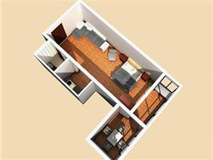 美高梅注册市悦居养生公寓2室1厅1卫20万元