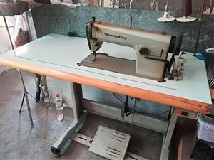 低价处理上工牌电动缝纫机,已用两年,运转正常。价格面议。
