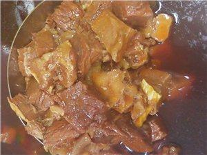 今日的牛肉,刚烧好的!!!