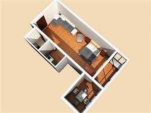 美高梅注册市悦居养生公寓2室1厅1卫1200元/月