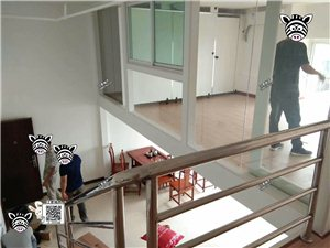 高档中央城写字楼精装1室2厅1卫2200元/月