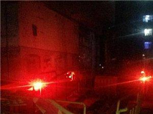 东市场小区39号楼附近挖沟,晚上出行的小伙伴注意安全哦