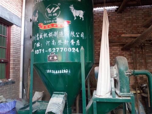 玉米粉碎搅拌一体机,9成新,使用半年,是以前养鸡用的还有一些养鸡的设备,现急于对外出售,价格可谈。澄...