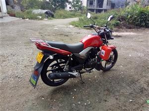 二轮摩托车豪爵骊爽-150