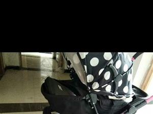 小龙哈彼推车,200元,临泉县城送上门,送有闲置全新宝宝浴盆 酸奶机 暖奶器, 喂奶枕,电话1665...