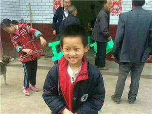 五星农贸市场的小男孩赵海,于八月二十四号傍晚离家出走至今未归。