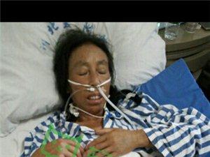 救救我患有恶性肿瘤的母亲!