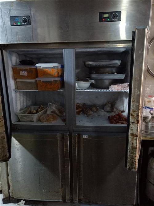4开门8成新冰箱低价处理! 价格面议