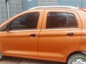 雷丁八成新D50悦享版,车身颜色火星橙,直流永磁驱动电机,功率60V2.2KW,外廊尺寸3320、1...