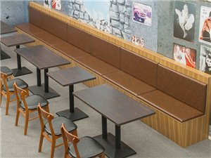 绵阳餐厅奶茶店卡座沙发厂
