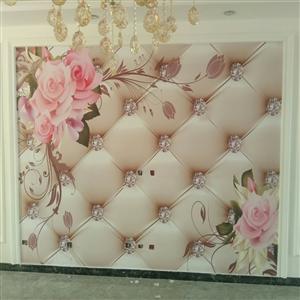 承接壁纸,壁画施工!专业施工团队!多年施工经验13230118688/15832496697