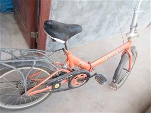 飞鸽折叠自行车 20迷你快装减震学生儿童成人通勤车。8成新。,在临潼小寨有需要联系