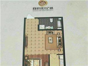 尚科世纪城1室 1厅 1卫29万元