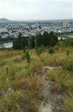 秋高气爽,站在家乡的马山坡上,拍摄家乡内乡县马山口镇全貌!