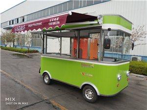 各种尺寸电动小吃车移动餐车四轮美食车底价促销