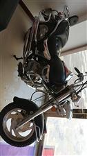复古摩托车 8成新