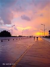 雨后的景观