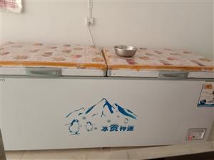 新大冰柜,买来才用了两三个月。关门不做了,现在低价出售。有意者联系