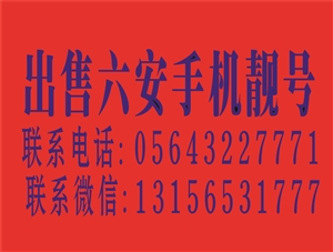 出售六安手机靓号AAAA  13856431111六安移动 13731941111六安移动 182...