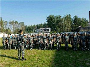 临泉县长官中心校2018年秋国防教育军训活动