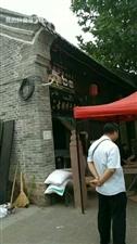 美高梅官网县明清古街现场制作老式五仁月饼