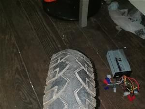 电机轮胎,控制器,72v的绝对好用,静安寺