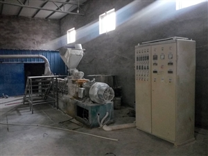 色母粒机器整套设备便宜处理,机器在雄县,有意着联系,