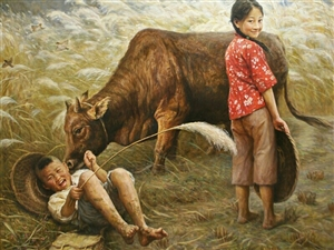 那些年一起放牛的时光